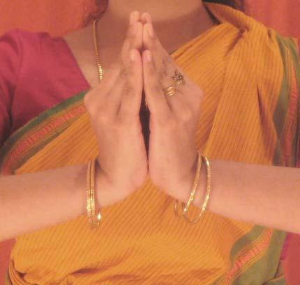 Kapota Hand Gesture (Mudra)